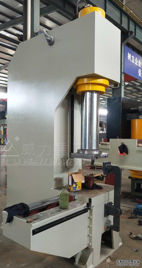 160吨带移动工作台单柱液压机