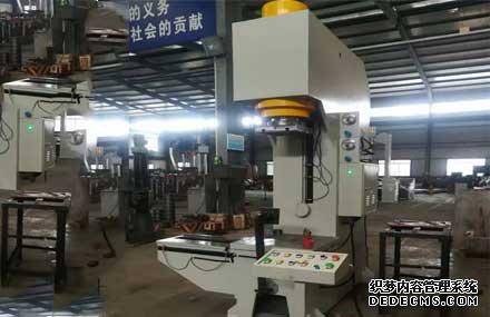 160吨带移动工作台单臂液压机_YW41-160T单臂油压机