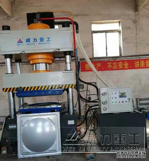 天津不锈钢水箱板成型液压机
