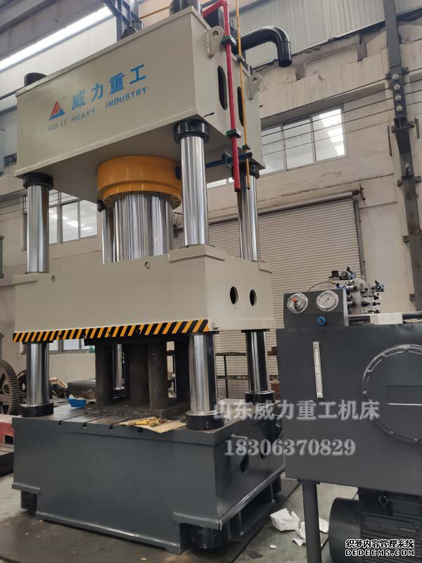 800吨四柱液压机实物图片