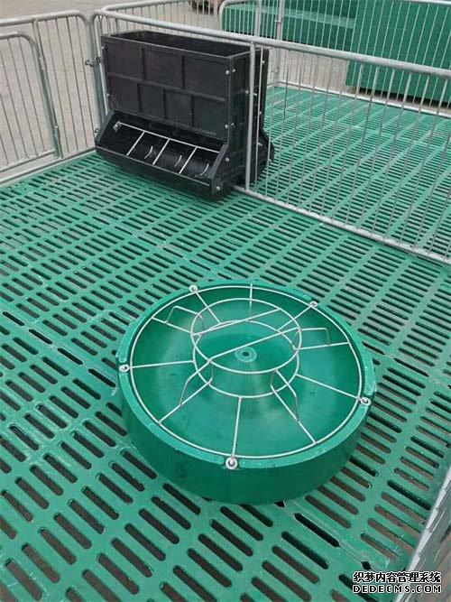 猪用复合圆形料槽料盆